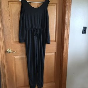 Venus , long sleeved, cold shoulder jumpsuit